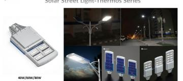 Upgrade solar street light Thermos series is released as below